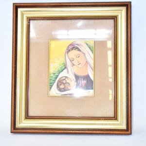 Quadro 40*44 Madonna Con Bambino Di Sanpaolo