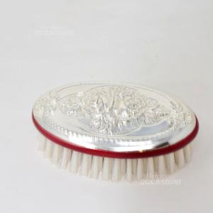 Spazzola Ovale Argento 925