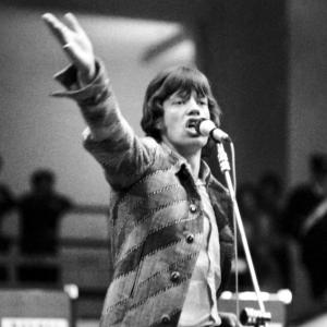 Mick Jagger in concerto, 1967