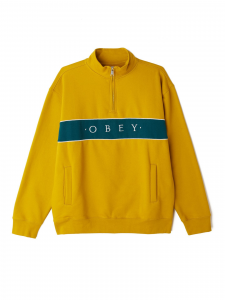 Felpa Obey Deal Mock Neck