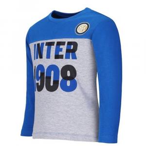 Maglietta Inter taglia 12 18 24 mesi neonato manica lunga