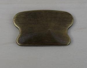 Finale Per Corrimano Ottone brunito art. 89  mm 68 x 40 (Prezzo Per Pz. 2)