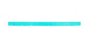 TTV 6784 (squeegee L=805 mm) Gomma Tergipavimento ANTERIORE per lavapavimenti NUMATIC