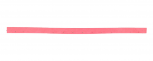 TTB 6652 T (squeegee L=850 mm) goma de secado trasero para fregadora NUMATIC (Fino al 2012)