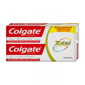 Colgate Total Dentifricio 2x75ml 2019