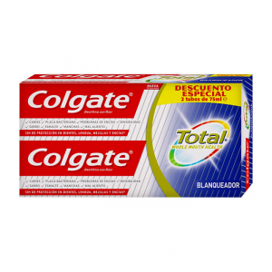 Colgate Whitening Dentifricio 2x75ml
