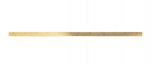 SCL COMFORT M 122 Gomma Tergipavimento ANTERIORE per lavapavimenti LAVOR