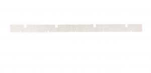 SCL COMPACT FREE 45B Gomma Tergipavimento ANTERIORE per lavapavimenti LAVOR PRO - OLD TYPE-2