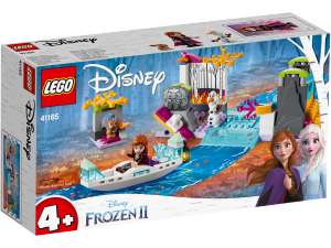 LEGO PRINCESS SPEDIZIONE SULLA CANOA DI ANNA 41165