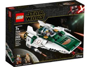 LEGO STAR WARS A-WING STARFIGHTER DELLA RESISTENZA 75248