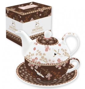 EASY LIFE TEA FOR ONE/EGOISTE IN PORCELLANA IN SCATOLA REGALO LINEA ATMOSPHERE ORIENTAL 104 MO10
