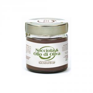 Spalmabile Fondente e Olio de Oliva, confezionato in vasetto da 200 gr