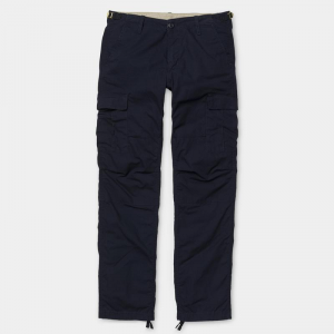 Pantaloni Carhartt Aviation (Blue Rinsed)