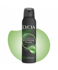 LYCIA GAS MEN EXTRA FRESH 150 ML