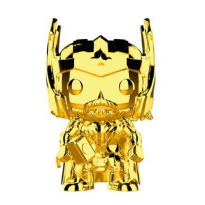FUNKO POP! Marvel Studios: The First Ten Years Gold Chrome THOR