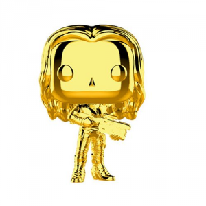 FUNKO POP! Marvel Studios: The First Ten Years Gold Chrome GAMORA