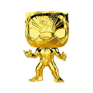 FUNKO POP! Marvel Studios: The First Ten Years Gold Chrome BLACK PANTHER