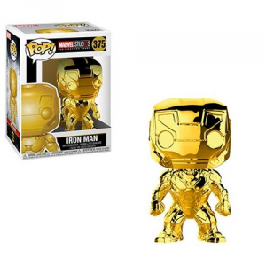 FUNKO POP! Marvel Studios: The First Ten Years Gold Chrome IRON MAN