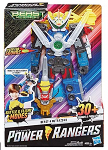 Hasbro Power Rangers Morphers Beast-X Ultrazord con Suoni e Frasi