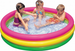 PISCINA 3 ANELLI CM 147X33 I.6 57422 INTEX