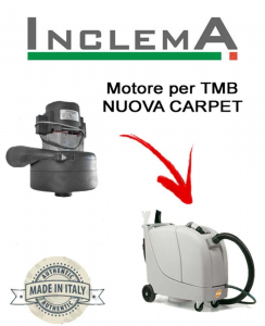 NUOVA CARPET MOTORE LAMB AMETEK di aspirazione per lavapavimenti TMB