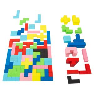 Puzzle in legno Tetris