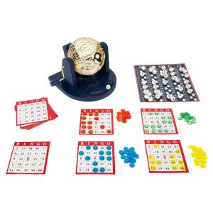 Set da gioco Bingo con cesto mischia-numeri