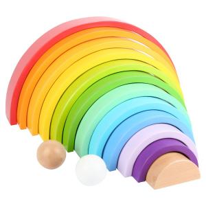 Arcobaleno XL Elementi da costruzione in legno