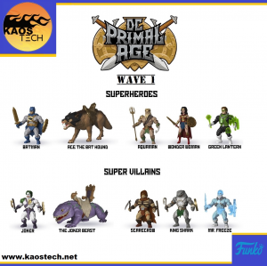 Savage World DC Primal Age: WAVE 1 Completa