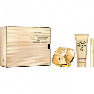 Paco Rabanne Lady Million Eau De Parfum Spray 80ml Set 3 Parti 2019