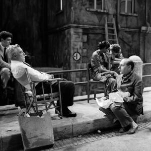 Vittorio De Sica e Roberto Rossellini, 1959