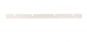H 404 C Front Squeegee rubber for scrubber dryer DULEVO - From Series 5