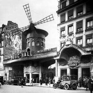 Moulin Rouge, Parigi, 1925