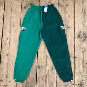 Pantalone Adidas Track Pants Verde Scuro e Verde Chiaro