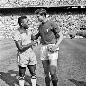 Pelè e Facchetti, 1963