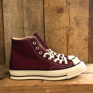 Scarpa Converse Chuck 70 in Canvas Bordeaux