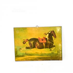 Quadretto Austriaco Con Cavallo