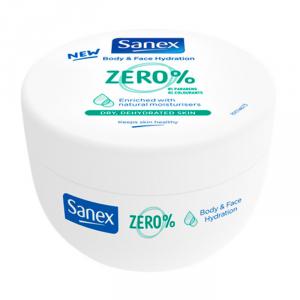 Sanex Zero Body & Face Hydratation Dry & Dehidrated Skin 250ml