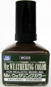 Mr. Weathering Color Stain Brown