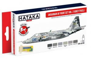 Ukrainian AF paint set vol. 2 (Grey Pixel)