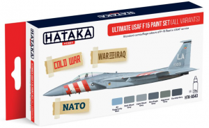 Ultimate USAF F-15 paint set (all variants)