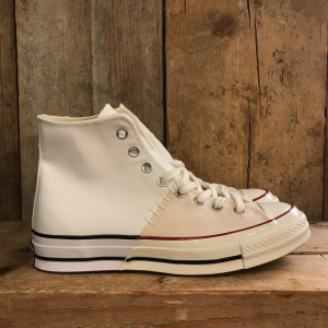 Scarpa Converse Chuck 70 restructured in Canvas Bianca e Panna