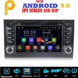 ANDROID 9.0 autoradio 2 DIN navigatore per Audi A4, Audi S4, Audi RS4, Seat Exeo GPS DVD WI-FI Bluetooth MirrorLink