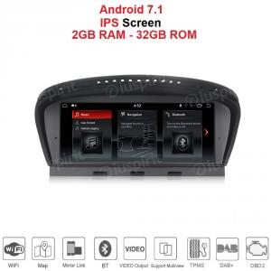 ANDROID GPS WI-FI Bluetooth MirrorLink 8.8 pollici navigatore compatibile con BMW Serie 3 E90/E91/E92 2005-2008, BMW Serie 5 E60/61/E63/E64 2005-2008 Sistema originale CCC