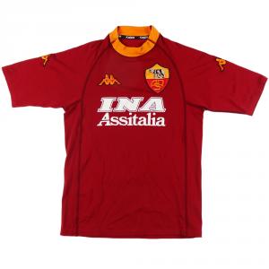 2000-01 Roma Maglia Home #18 Batistuta S