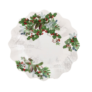 Piatto winter holiday 24 cm