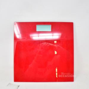 Bilancia Laica Rossa