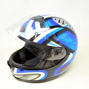 Casco Moto Lem Blu