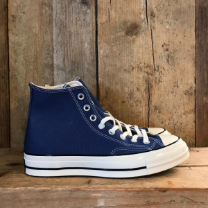 Scarpa Converse Chuck 70 in Canvas Blu