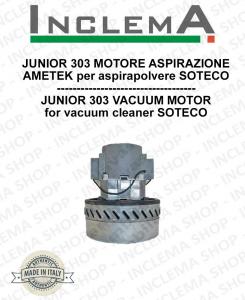 JUNIOR 303 MOTORE ASPIRAZIONE AMETEK per aspirapolvere SOTECO